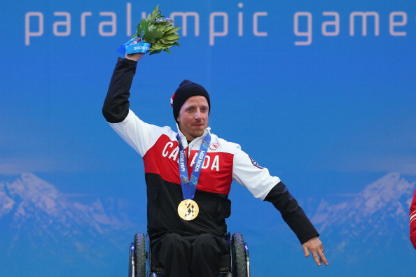 Josh Dueck won gold and silver medals at the Sochi 2014 Paralympic Games ©Getty Images