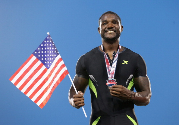 Justin Gatlin has faced much criticism since his comeback from a doping ban Getty Images