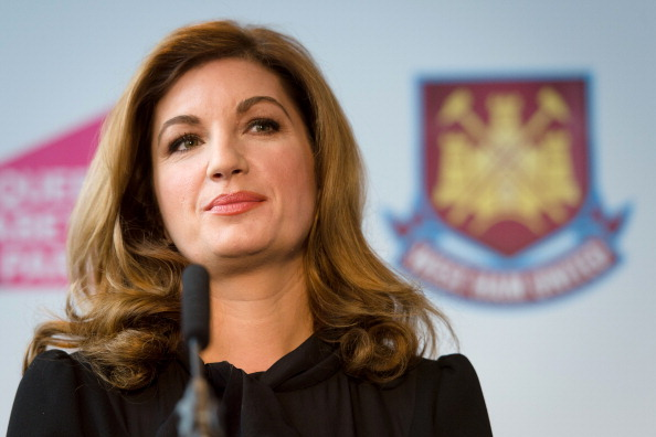 Karren Brady, vice-chairman of West Ham United Football Club, claims the London Olympic Stadium will be one of the greatest in world football once complete ©Getty Images