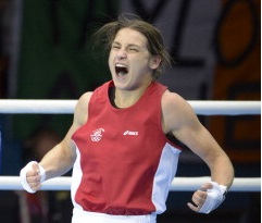 Katie Taylor is through to the 60kg final at the Women's World Boxing Championships ©Getty Images