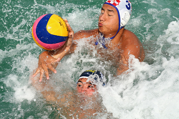 Kazakhstan battled to round-robin gold in water polo ©Getty Images