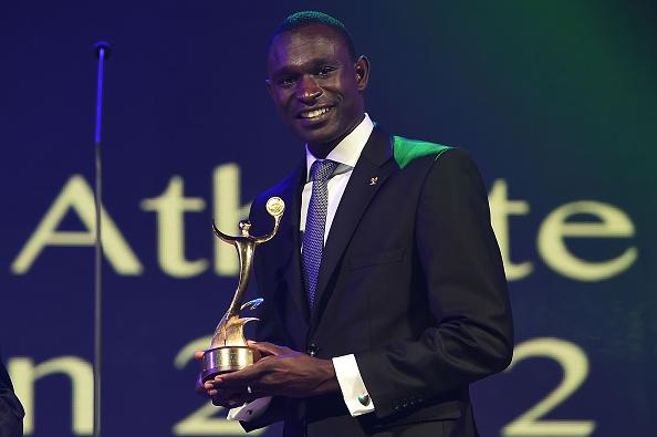 Kenyan 800 metre star David Rudisha was a major win at the ANOC Gala Awards ©Getty Images