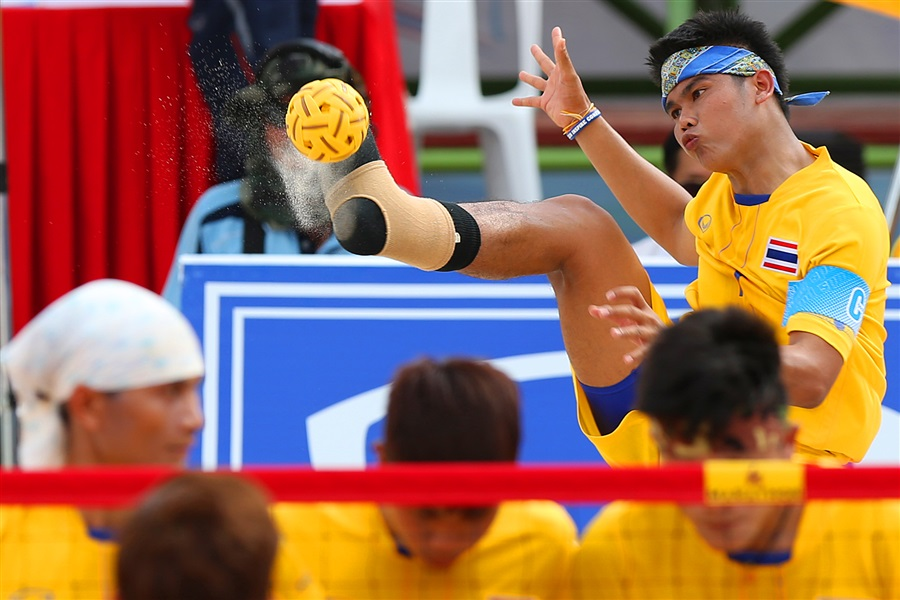 Medals up still up for grabs in sepak takraw but it is hard to look beyond Thailand ©Phuket 2014