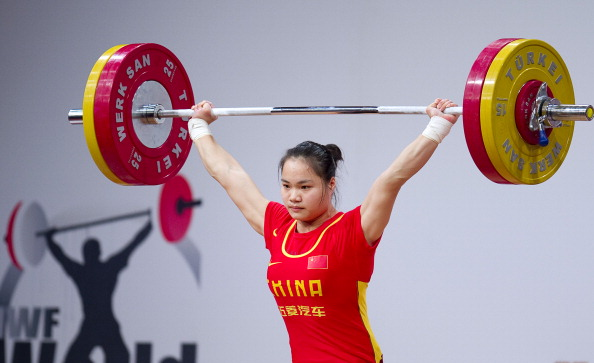 Mengrong Deng took the overall title at the IWF World Championships in Almaty, Kazakhstan today ©Getty Images