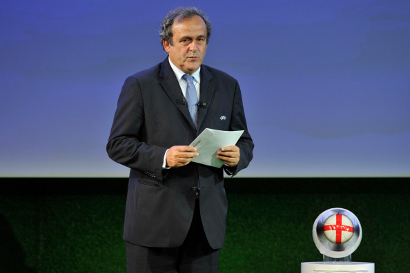 Michel Platini has said the 2022 FIFA World Cup will be played in winter ©Getty Images