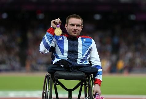 Mickey Bushell won the T53 100 metres at London 2012 ©Getty Images