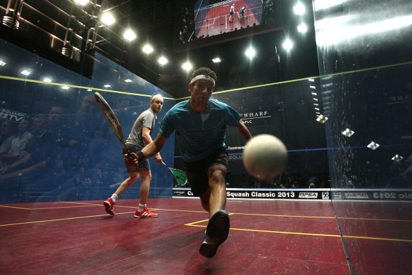 Mohamed Elshorbagy claimed the world number one spot for the first time in his career this month ©Getty Images