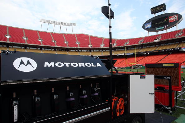 Motorola Solutions has implemented communication solutions at a number of major sporting events across the world ©Getty Images