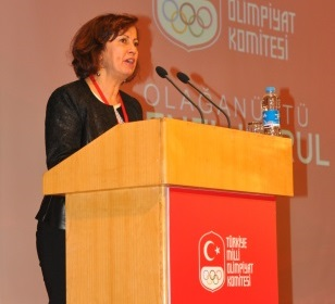 Nese Gündoğan will be a European female representative on the ANOC Executive Council ©TOC