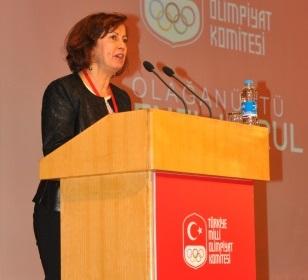 Nese Gündoğan will be a European female representative on the ANOC Executive Council ©TOC