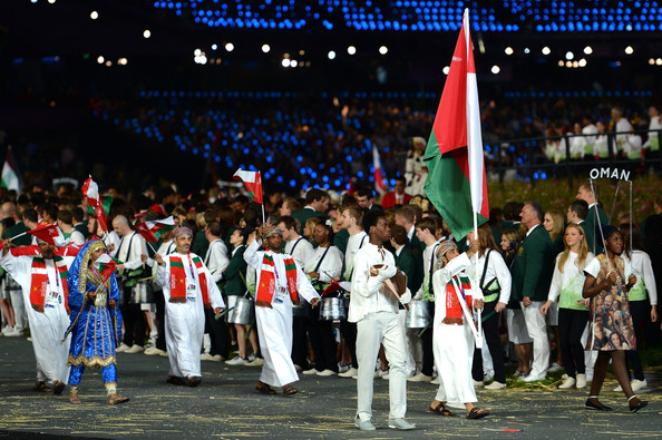 Oman were represented by a team of four athletes at London 2012  ©Getty Images