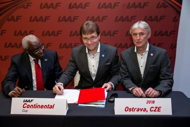 Ostrava have been awarded the 2018 IAAF Continental Cup ©IAAF
