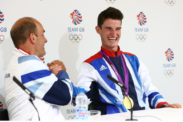 Phil Scanlan (left), British Shootings team leader from London 2012, said Peter Wilson (right) has been a great ambassador for the sport of shooting ©Getty Images