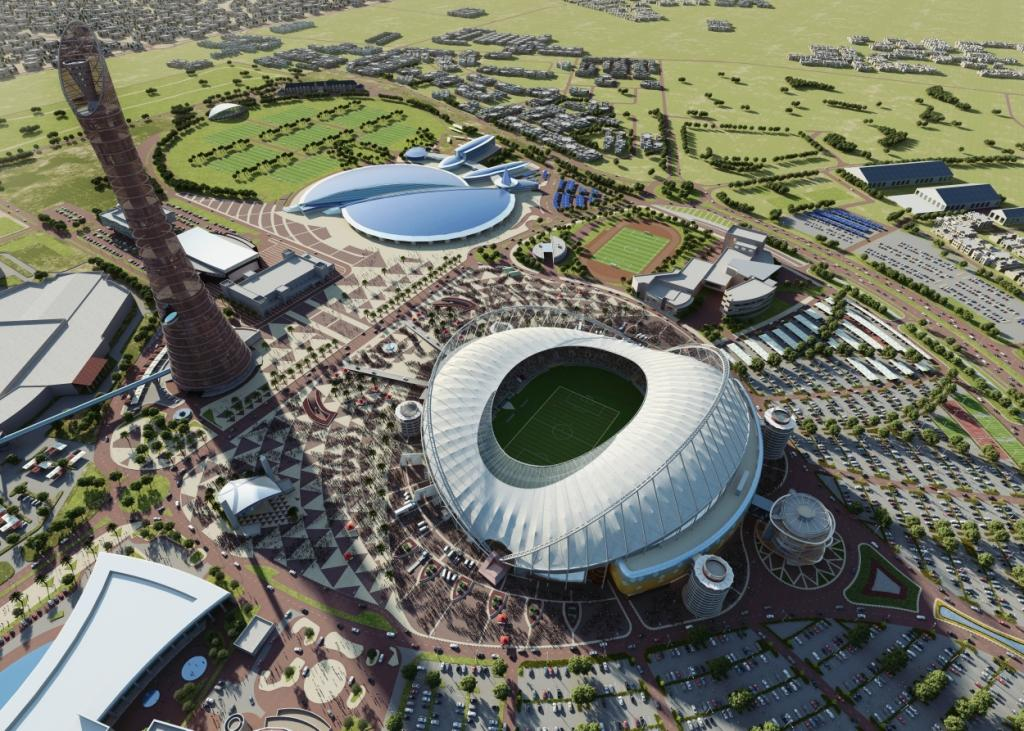 Plans have been unviled for the renovation of the Khalifa International Stadium ©SC