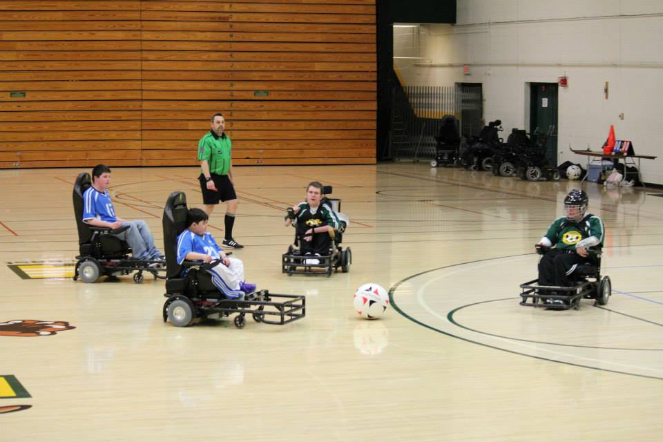 Power soccer is striving for inclusion at the Paralympics ©Vermont Chargers