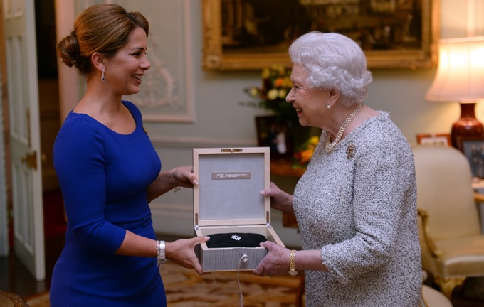 Queen Elizabeth II has become the first person to receive the FEI Lifetime Achievement award ©PA