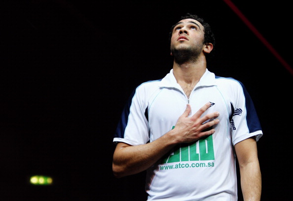 Ramy Ashour proved too strong for number one seed Gregory Gaultier ©Getty Images