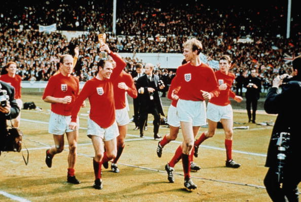 Ray Wilson's winner's medal from the 1966 FIFA World Cup has sold for 136000 at auction ©Getty Images