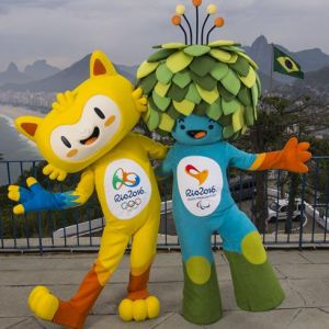 The mascots for Rio 2016 have been inspired by the animals and plants of Brazil ©Rio 2016