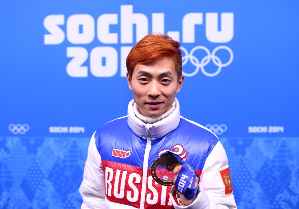 Russia's Victor An was the most medalled short track athlete at the 2014 Winter Olympic Games in Sochi ©Getty Images
