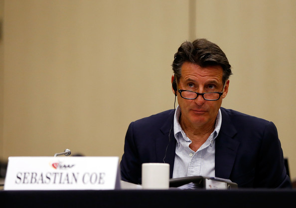 Sebastian Coe has announced officially that he is to stand for the Presidency of the IAAF ©Getty Images