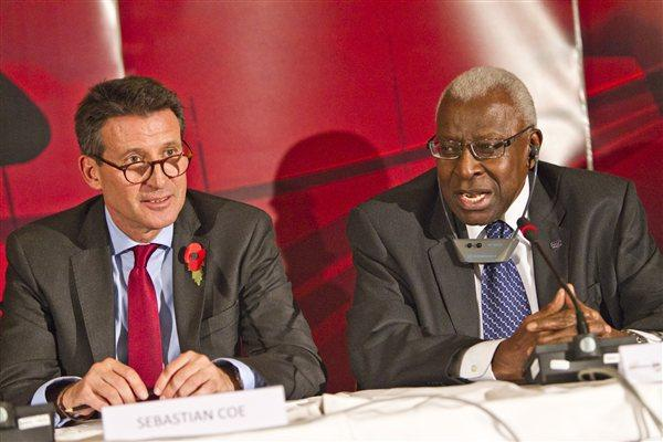 Sebastian Coe is seen as the favourite to become the next IAAF President and replace Senegalese Lamine Diack, whose held the position since 1999 ©Getty Images