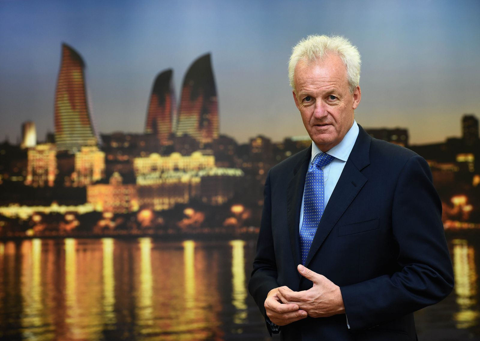 Baku 2015 chief operating officer Simon Clegg believes much effort is being made to increase public awareness of the European Games ©Baku 2015