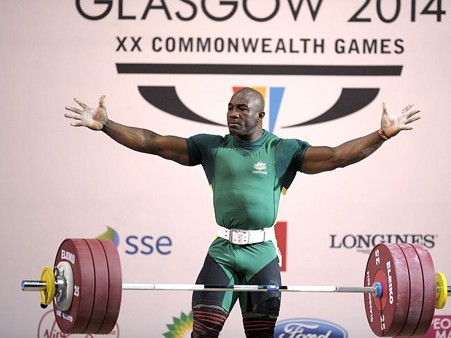 Australia's Simplice Ribouem was denied a gold medal at Glasgow 2014 because of a judging error ©Getty Images