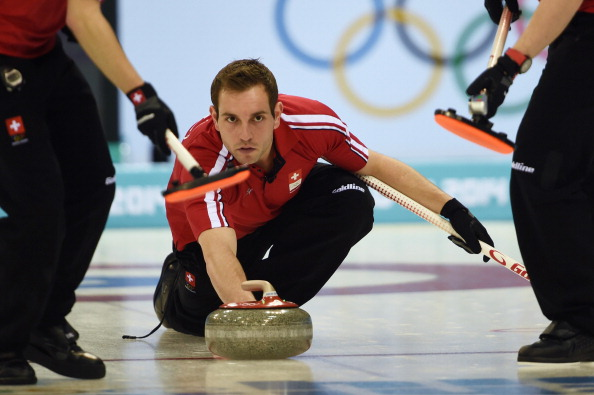 Sven Michel skipped Switzerland to an opening game win at the 2014 European Curling Championships ©Getty Images