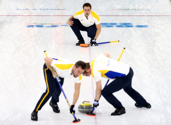 Sweden's men remain unbeaten at the European Curling Championships ©Getty Images