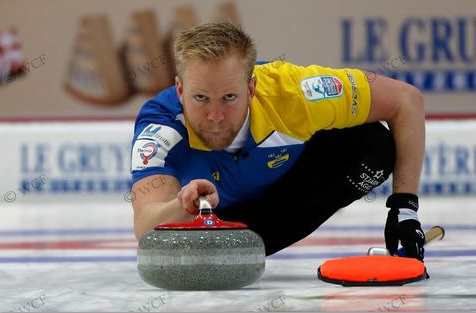 Swedish skip Niklas Edin spearheaded his team's charge into the final at the European Curling Championships ©WCF/Richard Gray