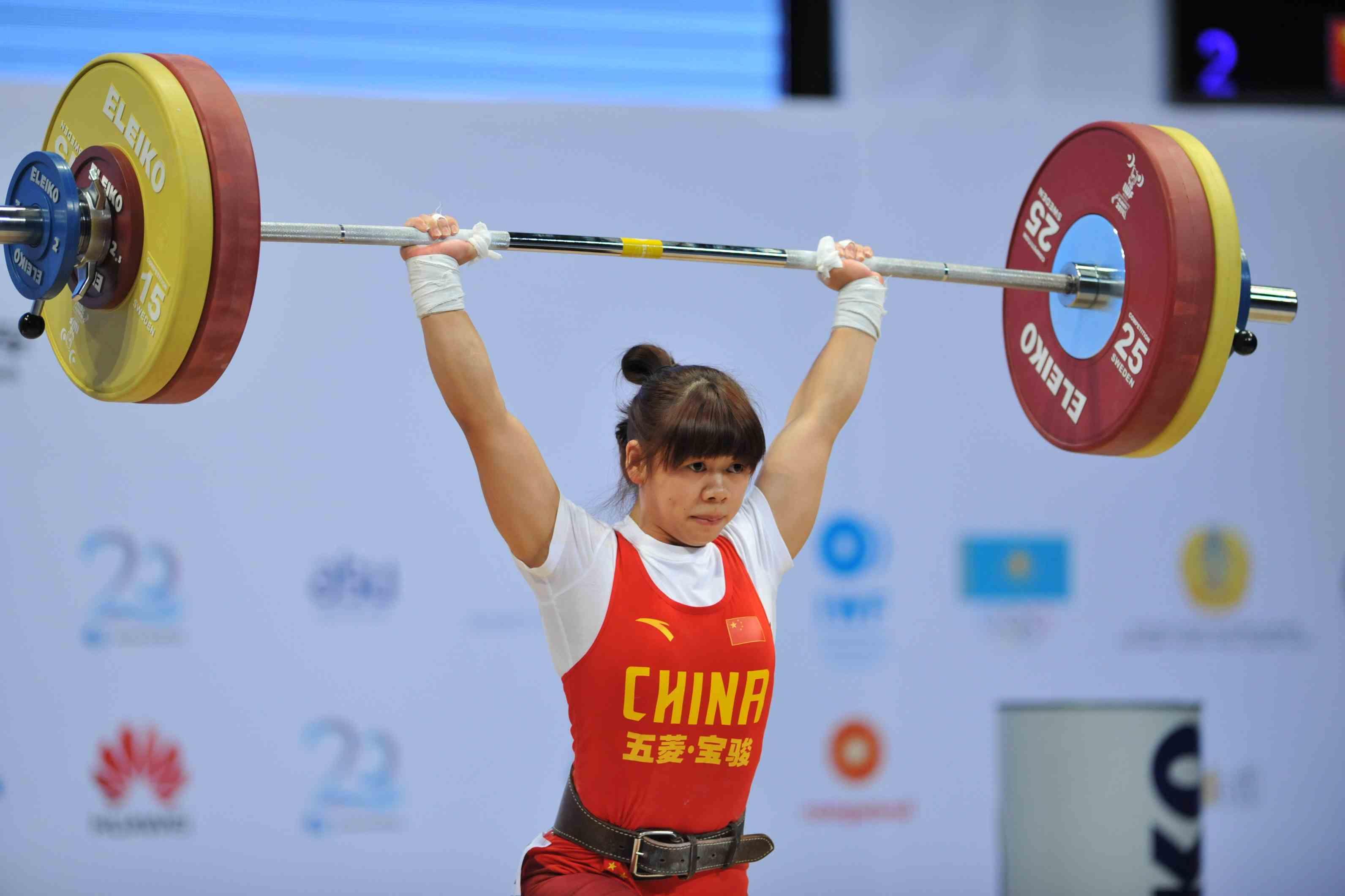 Tan Yayun secured gold in the women's 48kg ©Almaty 2014