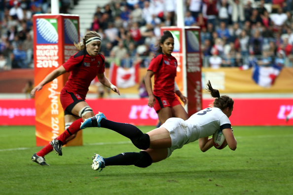 The 2014 Women's Rugby World Cup in France attracted record crowds and television audiences ©Getty Images
