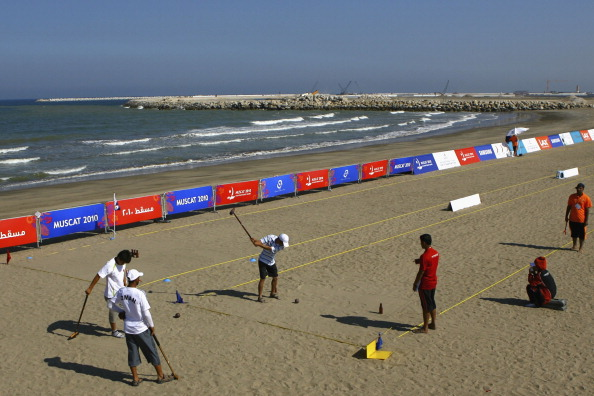 The Asian Beach Games, held in Muscat in 2010 and taking place for a fourth time in Phuket next week, is the inspiration behind the World Beach Games ©Getty Images