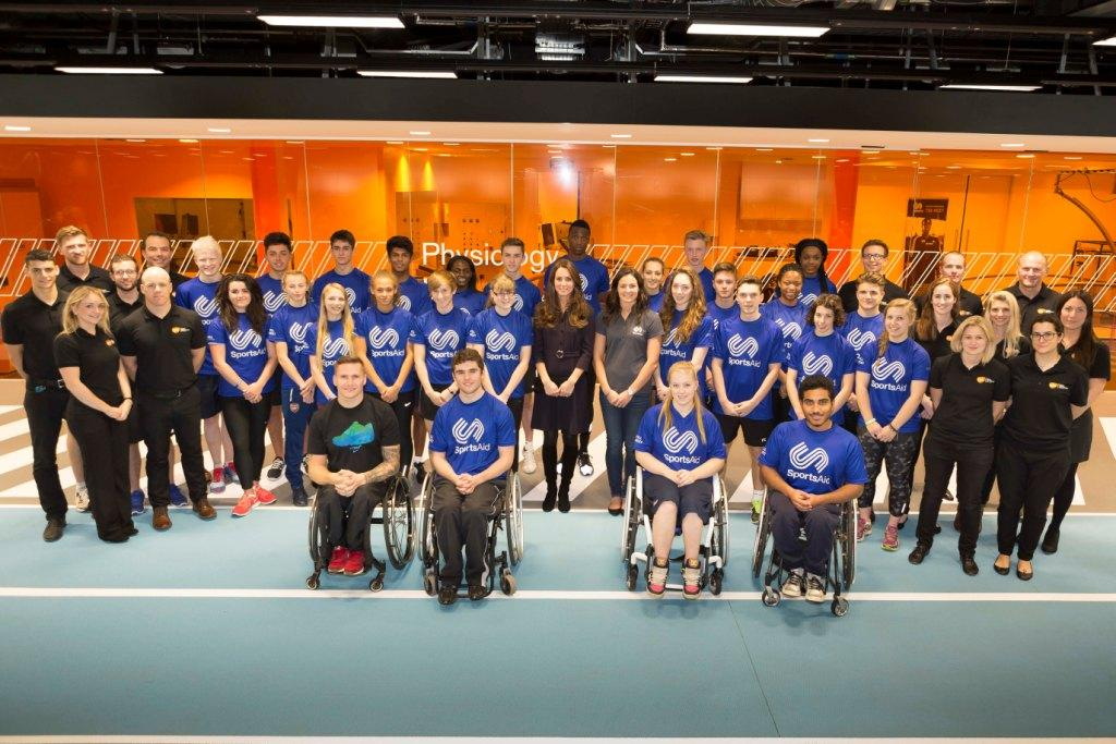 The Duchess of Cambridge joined 30 Olympic and Paralympic hopefuls at a workshop designed to aid them on the road to Pyeongchang 2018 or Tokyo 2020 Nathan Gallagher/©SportsAid