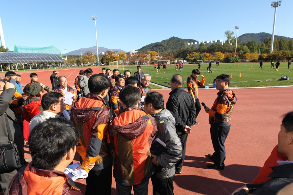 The Gwangju 2015 Organising Committee are conducting on-site inspections of all 70 competition venues ahead of the Summer Universiade ©Gwangju 2015