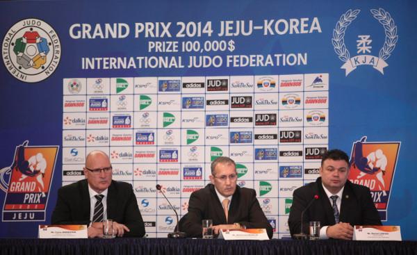The Jeju Judo Grand Prix is due to get underway tomorrow ©IJF