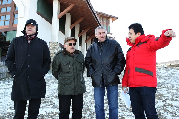 The Russian Olympic Committee was particularly satisfied with the compact venue concept ©Pyeongchang 2018