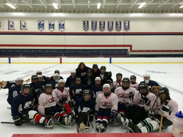 The US will battle for the inaugural Ice Sledge Hockey International Women's Cup in Canada ©US Paralympics