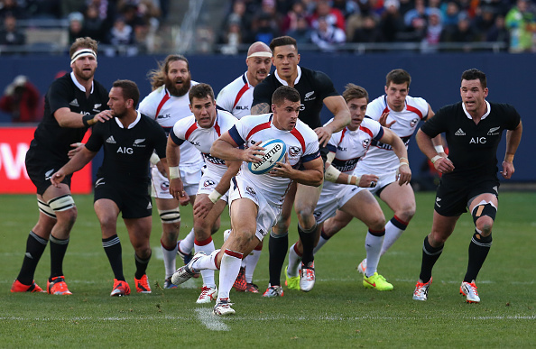The United States were beaten 74-6 by New Zealand in a test match on Saturday ©Getty Images