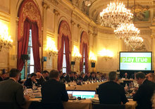 The WADA Foundation Board met in Paris, France today and approved a three per cent budget increase from 2015 ©WADA