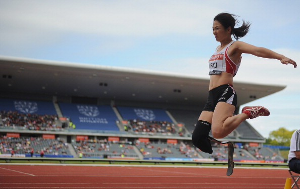 The final of the inaugural IPC Athletics Grand Prix series in 2013 was held in Birmingham, England ©Getty Images