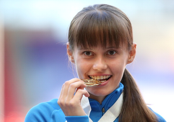 The investigation followed a failed test by world and Olympic champion, Elena Lashmanova ©AFP/Getty Images