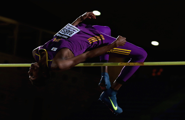 The schoolchildren would love to see the likes of Mutaz Barshim competing on home turf at the 2019 IAAF World Championships ©Getty Images