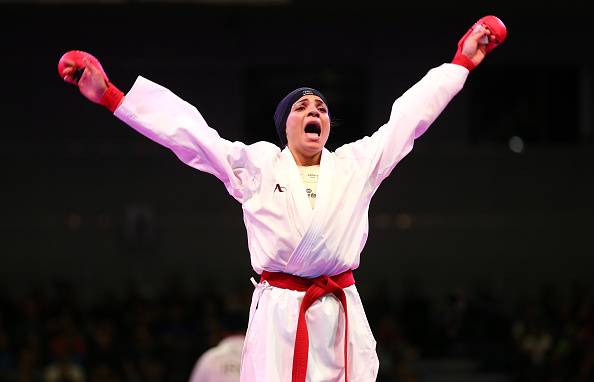 There was gold for Shymaa Abouel Yazed of Egypt in the women's kumite over 68kg competition ©Getty Images
