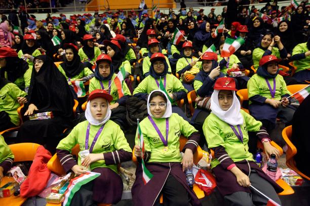 Thousands of children took part in the 2013 Iranian National Paralympic Week ©Iran NPC