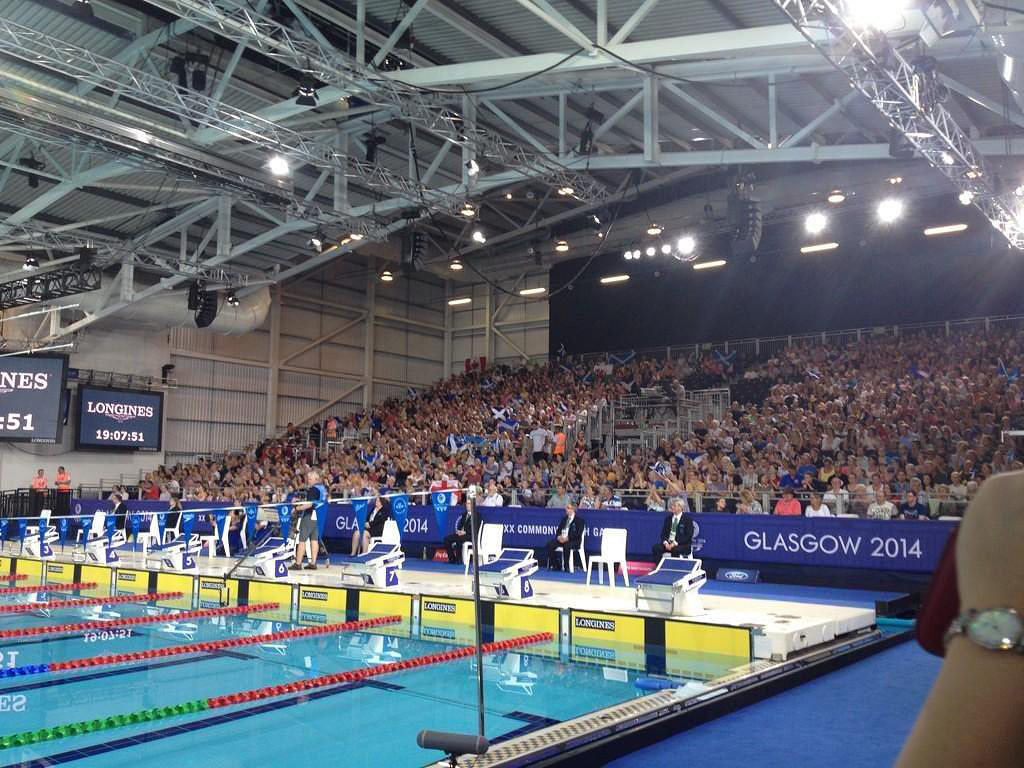 Tollcross International Swimming Centre is to follow this year's Commonwealth Games by hosting next year's IPC Swimming Championships ©Getty Images