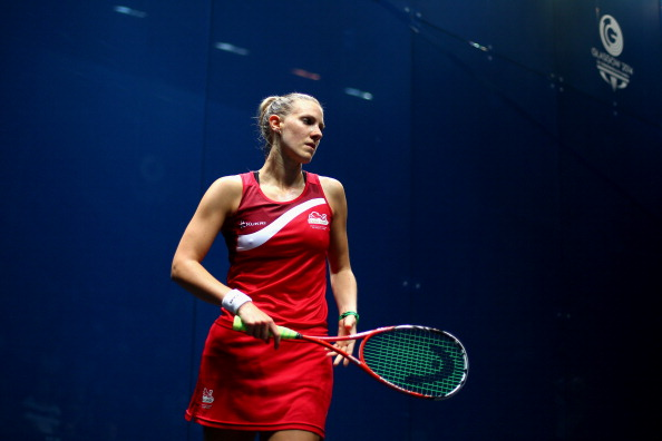Top female players such as Laura Massaro still earn far less than their male counterparts, but it is hoped this will change soon ©Getty Images