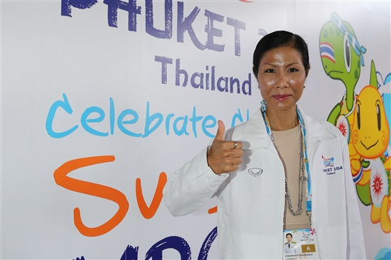 Tourism and Sports Minister Kobkarn Wattanavrangkul has spoken positively about a Thai bid to host the inaugrual World Beach Games ©Phuket 2014