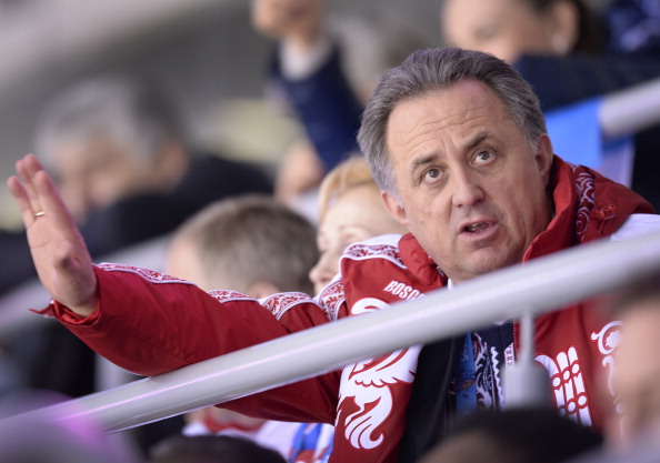 Vitaly Mutko insists Russia has a zero tolerance approach to doping ©AFP/Getty Images